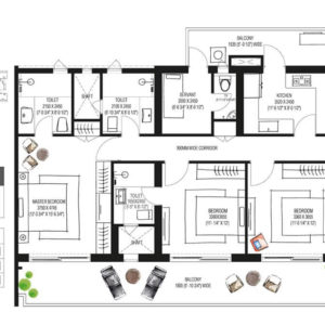 Krisumi Waterfall Residences sector 36A gurgaon