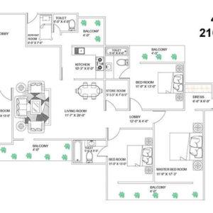 smart city residency l zone dwarka