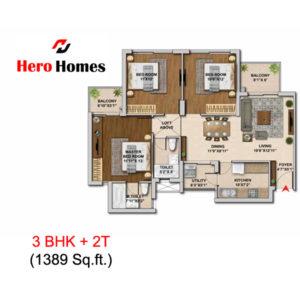 hero homes sector 104 gurgaon