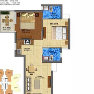 zara rossa 112 floor plans